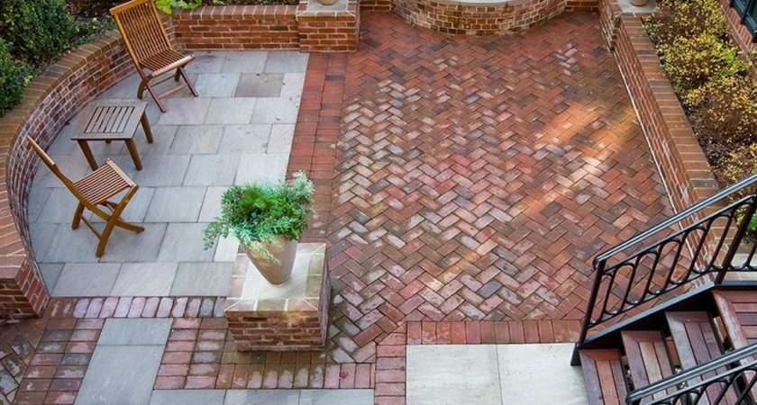 Types Brick Patio Designs Make Your Garden More