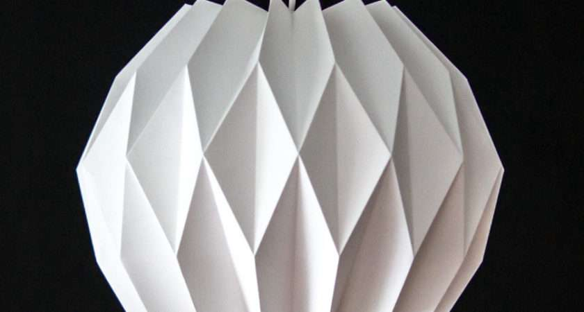 Ufo Paper Lamp Shade