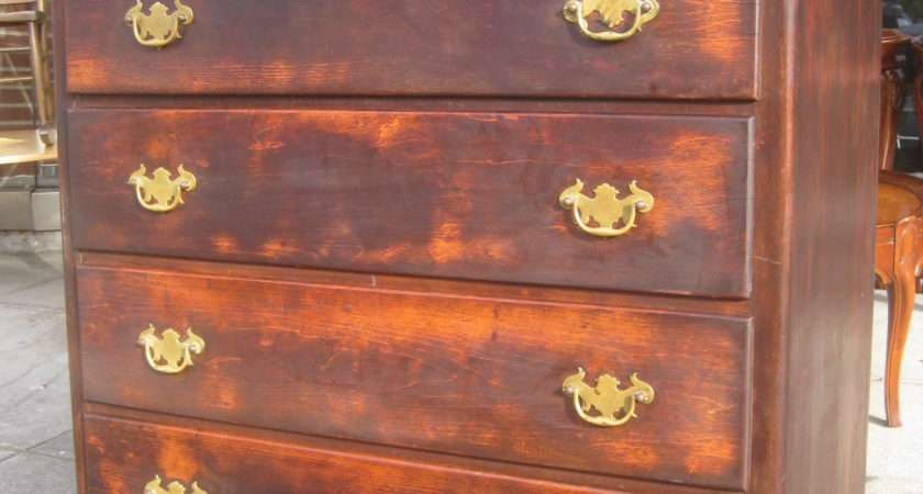 Uhuru Furniture Collectibles Sold Shabby Chic Oak Chest