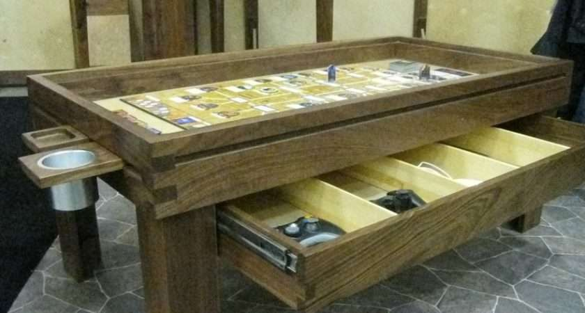 Ultimate Board Game Table Makes Playing Serious