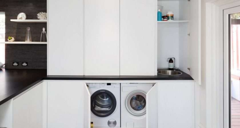 Ultra Modern Laundry Rooms Fit Into Most