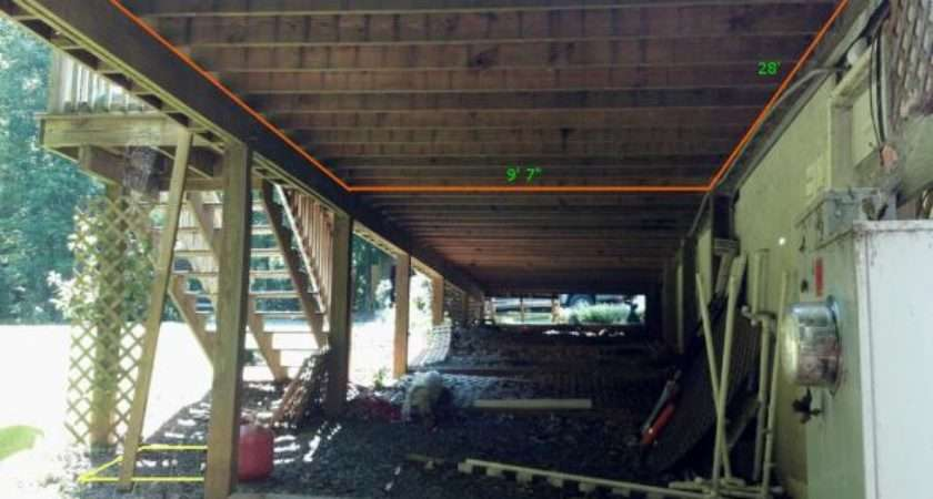 Under Deck Storage Your Thoughts Doityourself