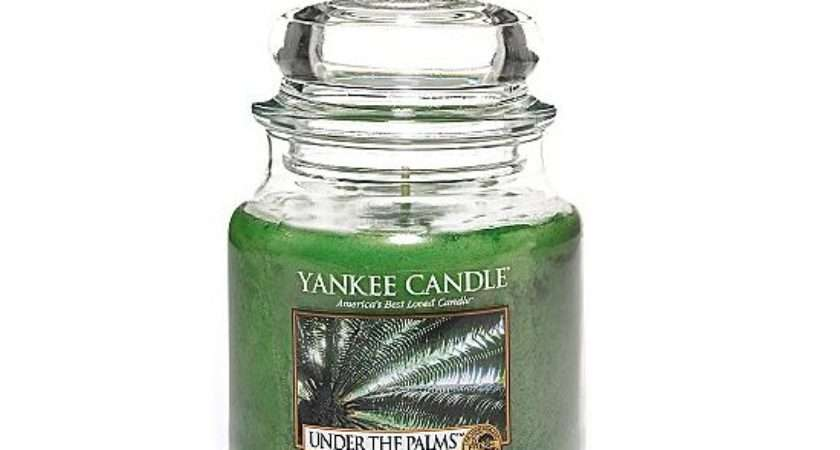Under Palms Candle Yankee House