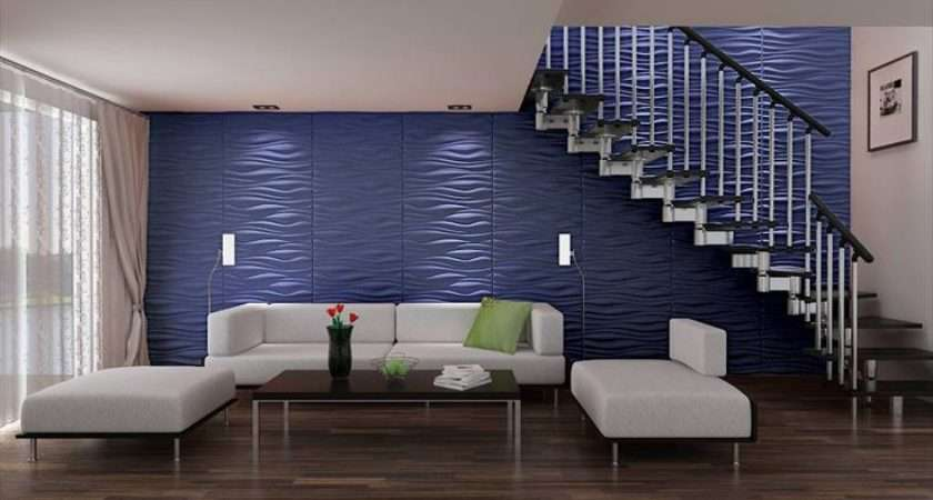 Under Stairs Blue Wall Cool Home
