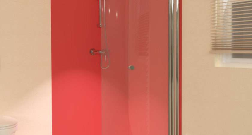 Uniarc Hinged Wet Room Shower Screen Contemporary