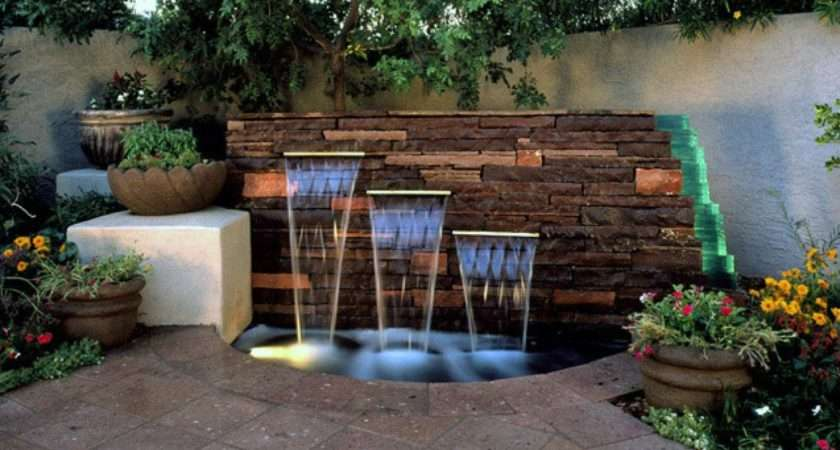 Unique Garden Water Features Landscaping Ideas Hardscape