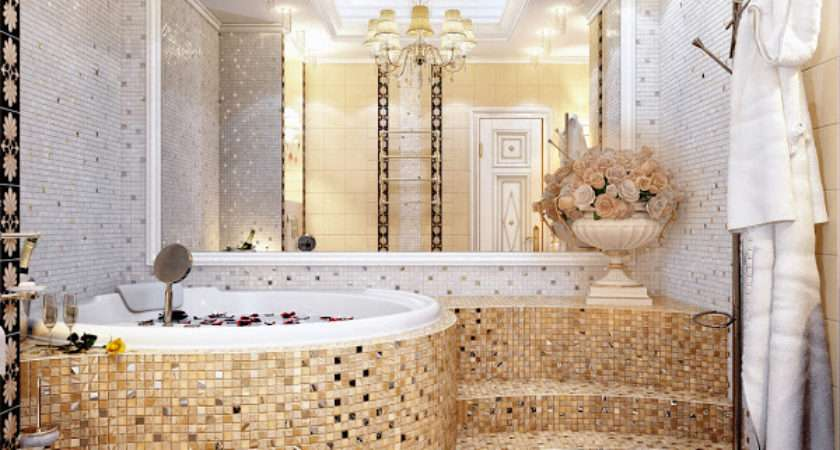 Unique Mosaic Tiled Bathrooms Home Design Lover