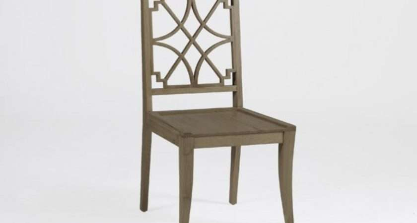 Unique Transitional Wood Dining Chair Lydia