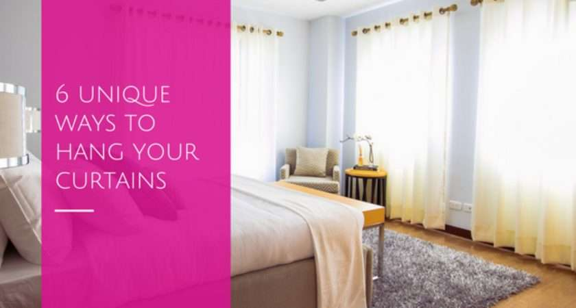 Unique Ways Hang Your Curtains Home Decor Solutions