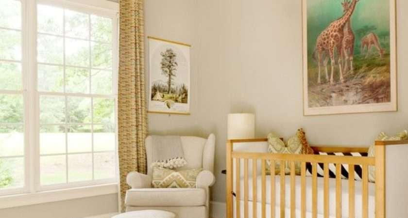 Unisex Beige Nusery Baby Room Ideas