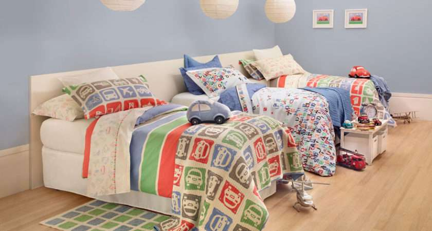 Unisex Kids Bedroom Tropical Vacation Home
