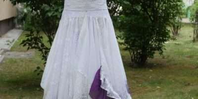 Upcycled Wedding Dress Fairy Tattered Romantic