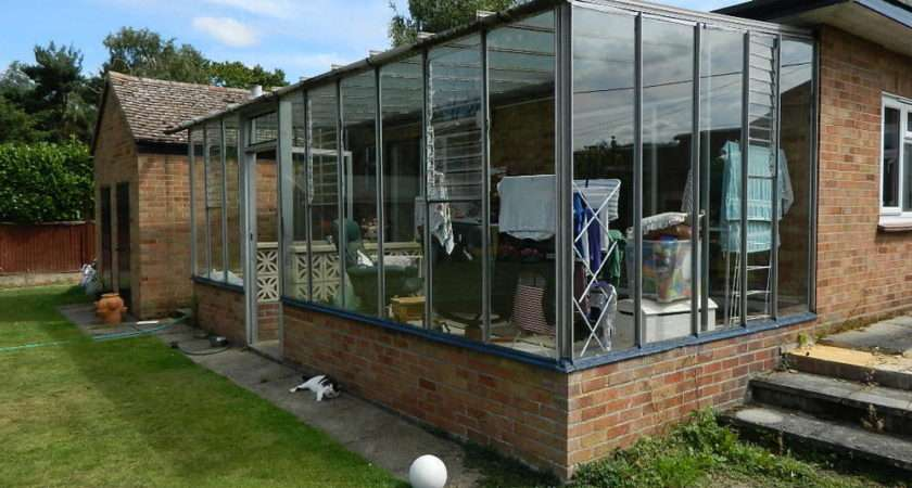 Used Conservatory Lean Greenhouse Ebay