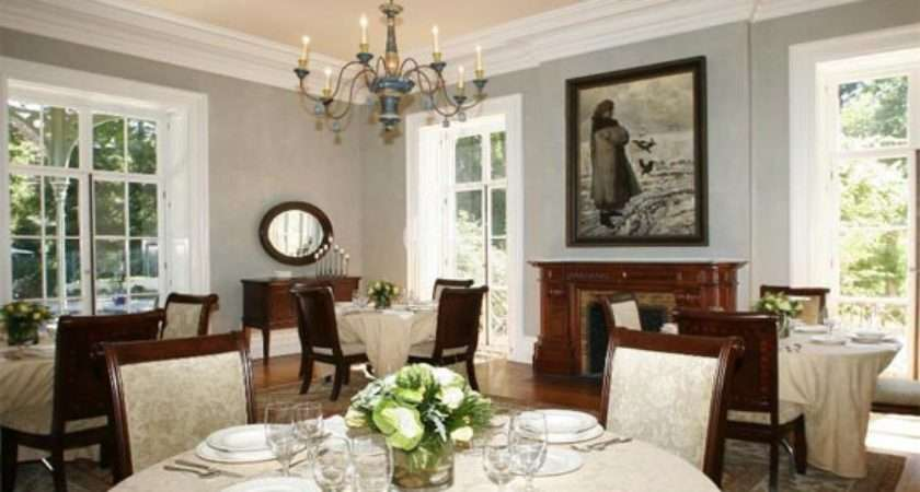 Various Grey Color Combinations Dining Room Interior