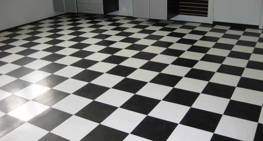 Vct Black White Home Tile Flooring