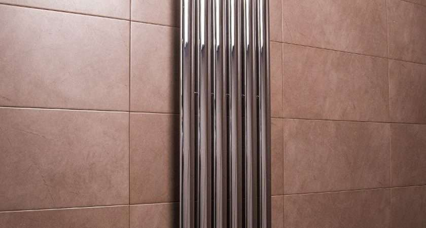 Vertical Designer Radiators Large Tall Upright Column Oval