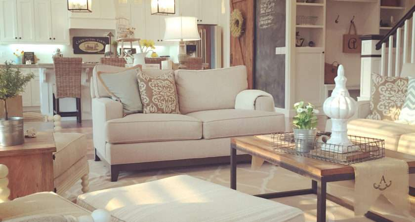 Very Characteristic Farmhouse Living Room Furniture