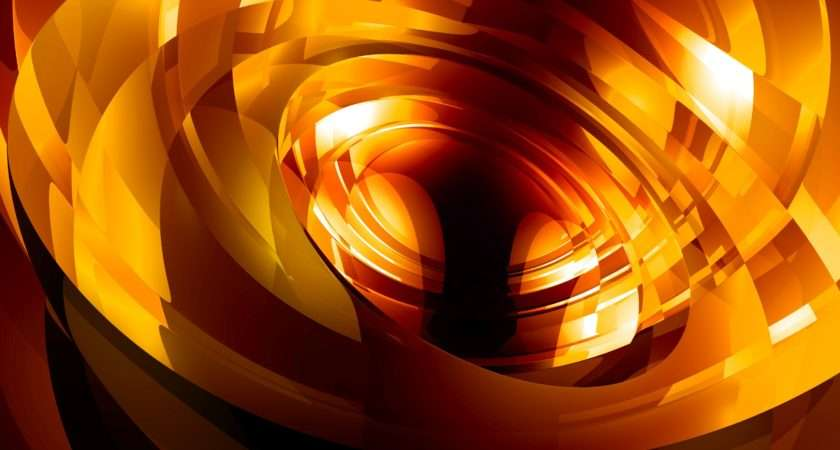 Vibrant Glow Abstract Screen