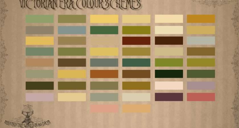 Victorian Era Colour Schemes Steampunk Color References Pinterest
