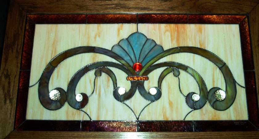Victorian Etched Glass Designs Stained Design