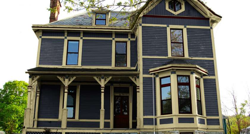 Victorian Exterior Paint Color Scheme Pin Pinterest
