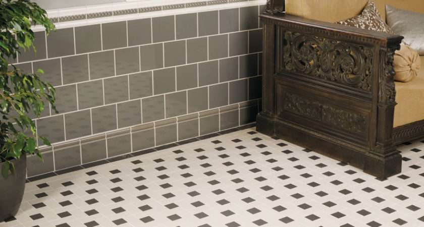 Victorian Floor Tiles Lincoln Pattern