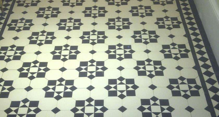 Victorian Old English Original Style Floor Tiles Katrine