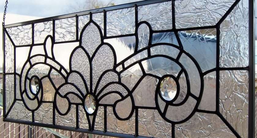 Victorian Stained Glass Designs Style Window