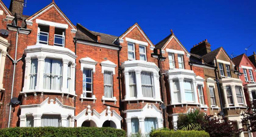 Victorian Terraced Houses Horizontal