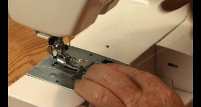Video Choosing Right Foot Sewing Machine Ehow