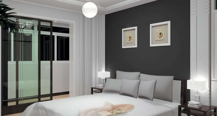 Views Comments Smart Bedroom Grey White