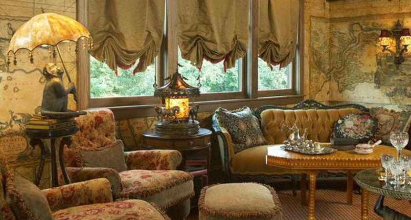 Vintage Country Style Living Room Pick Right