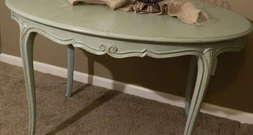 Vintage Emporium Shabby Chic Dining Table
