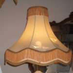 Vintage Fringe Victorian Lampshade Recover Restore