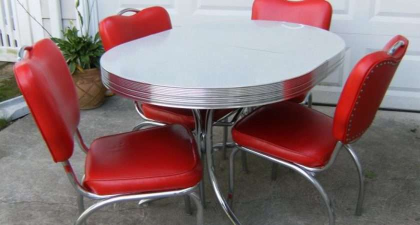 Vintage Kitchen Table Chairs