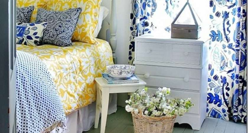 Vintage Navy Blue White Bedroom Ideas Greenvirals Style