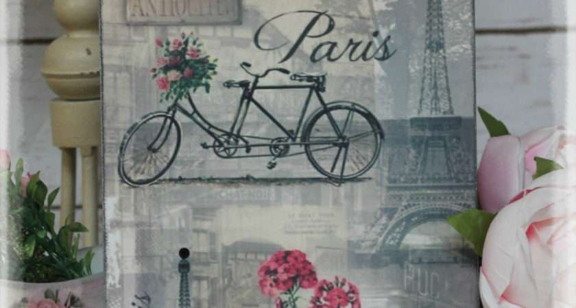 Vintage Paris Shabby Chic Country Cottage Style