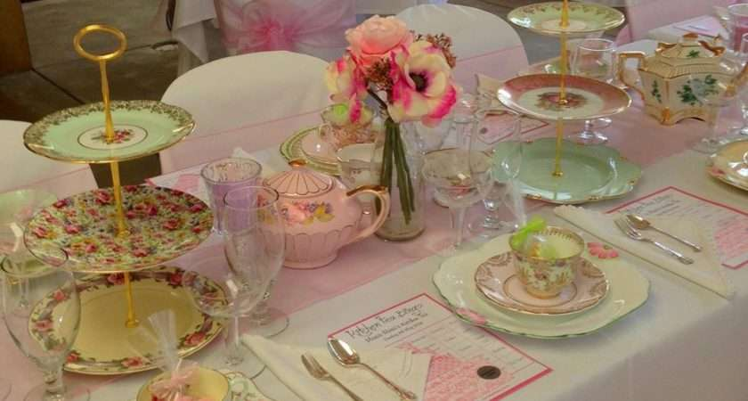 Vintage Table China Hire Events Media