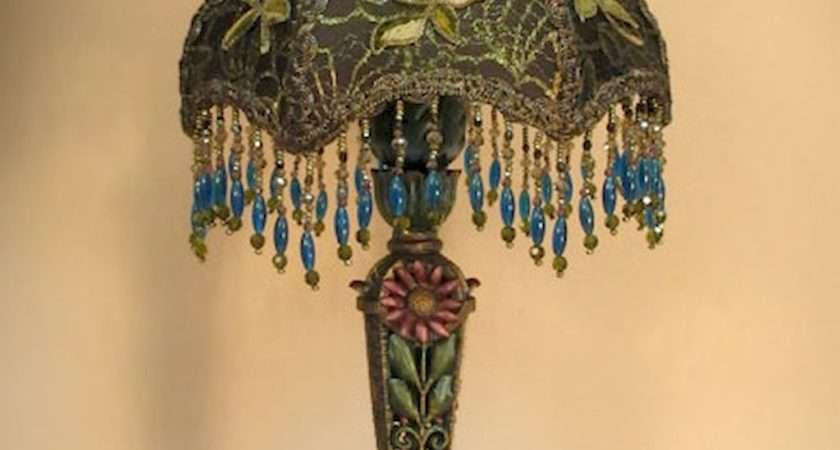Vintage Victorian Lamp Shades Ideas Decorating