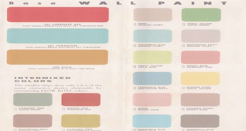 Vintage Wall Colors Country Cottage Paint