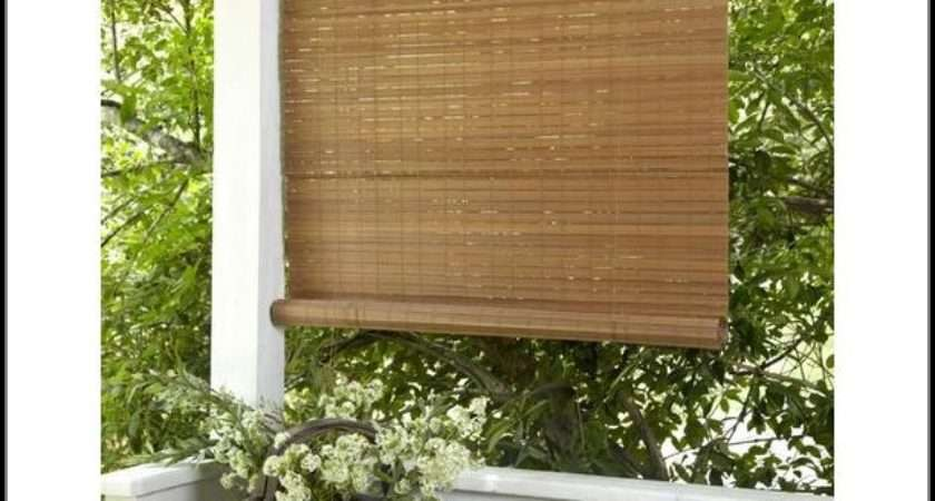 Vinyl Roll Patio Blinds Patios Home Decorating