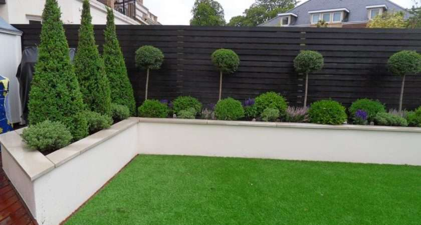Wall But Without Capping Note Colour Wooden Fence Too Garden