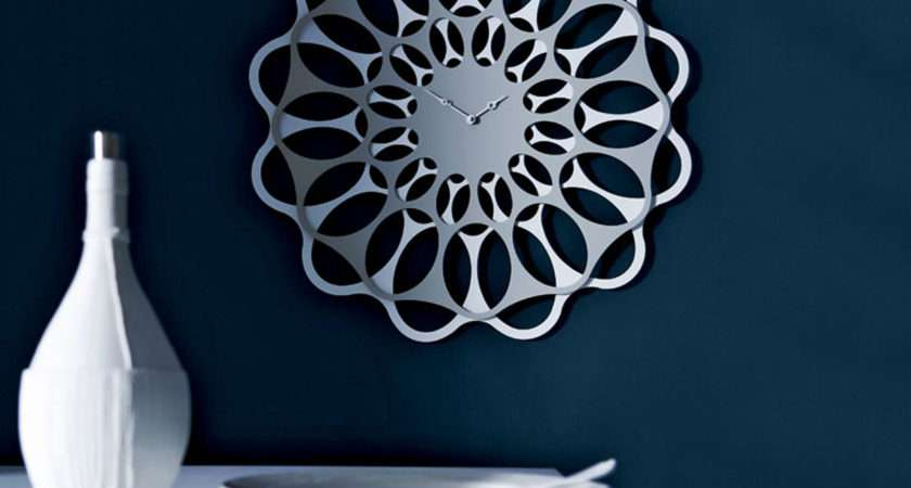 Wall Clock Design Article Stylish Steel