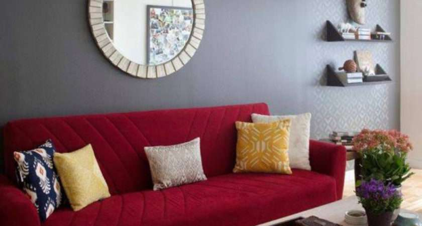 Wall Color Schemes Red Furniture Home Combo