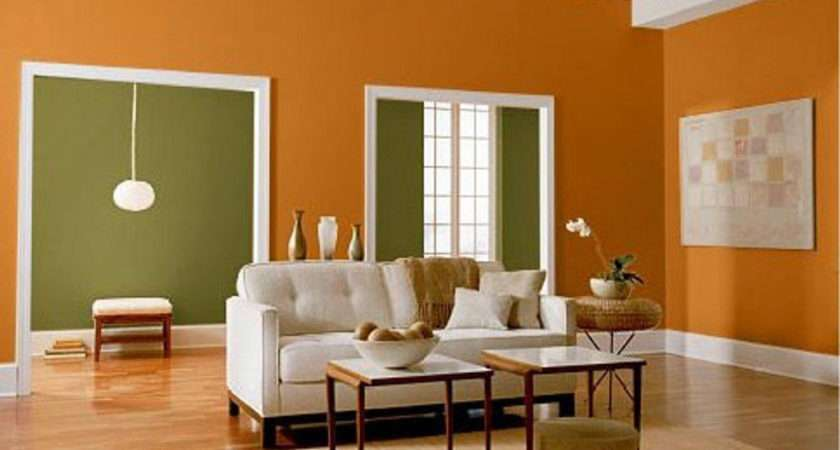 Wall Colour Combination Small Living Room