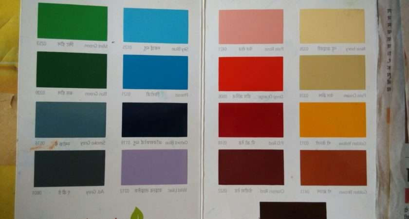 Wall Colour Shade Cards Ways Bright Dark Space