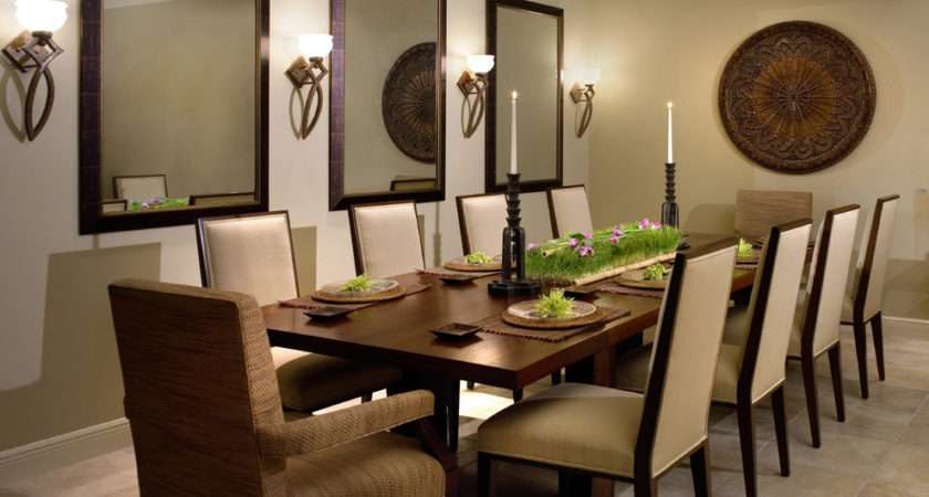 Wall Decorating Ideas Dining Room Contemporary Design