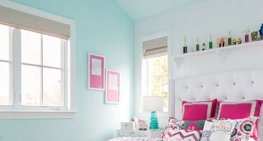 Wall Designs Bedroom Growing Young Girl Home