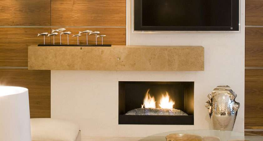 Wall Mount Electric Fireplace Living Room Contemporary