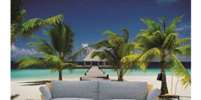 Wall Mural Veve Tropical Sea Sand